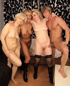 Naked Mature Foursome Porn Pictures