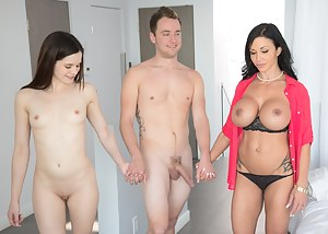 Naked Mature Threesome Porn Pictures