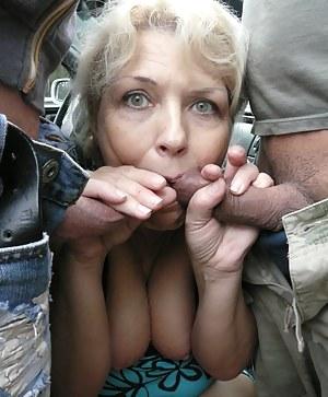 Naked Mature Blowbang Porn Pictures