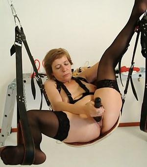 Naked Mature BDSM Porn Pictures